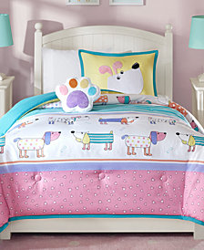 Mi Zone Kids Milo 4-Pc. Reversible Full/Queen Comforter Set