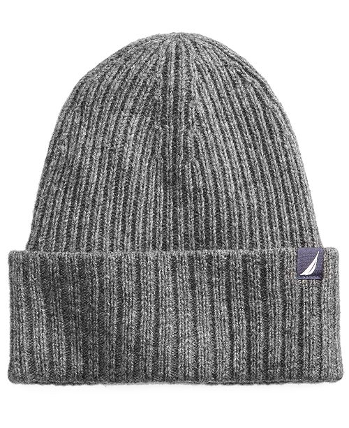 95cac162e5a50 Nautica Men s Large-Cuff Hat   Reviews - Hats
