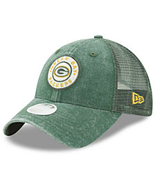 New Era Women's Green Bay Packers Perfect Patch 9TWENTY Snapback Cap
