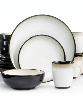 Sango Nova Black 16-Piece Set - Dinnerware - Dining u0026 Entertaining ... Sango Nova Black 16 Piece Set Dinnerware Dining Entertaining  sc 1 st  Best Image Engine : sango dinnerware sets - pezcame.com