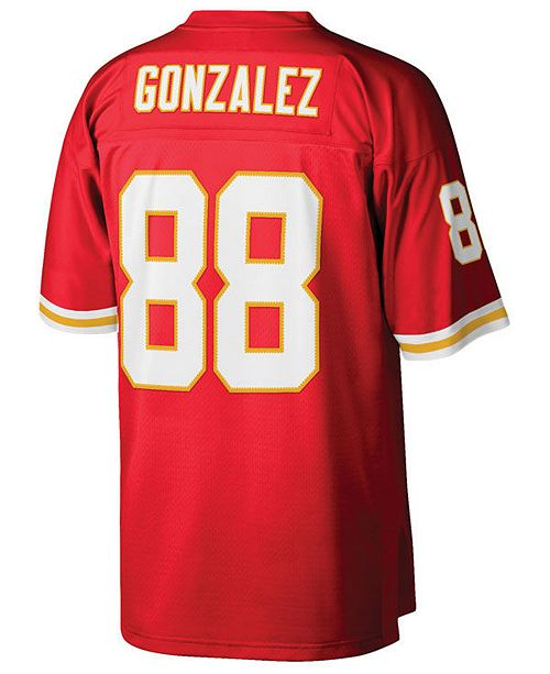 designer fashion 1f523 32c8a Men's Tony Gonzalez Kansas City Chiefs Replica Throwback Jersey