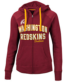 G-III Sports Women's Washington Redskins Conference Full-Zip Jacket