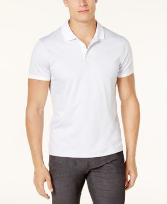 Image of Calvin Klein Men's Liquid Touch Micro Stripe Polo Shirt