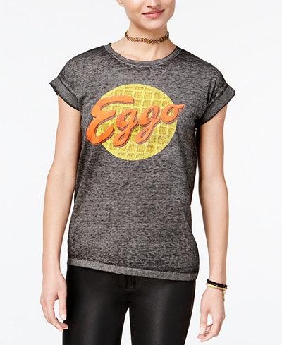 Bioworld Juniors' Eggo Graphic T-Shirt