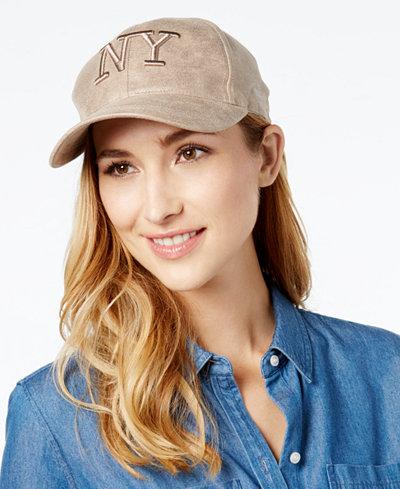 August Hats Metallic NY Baseball Cap