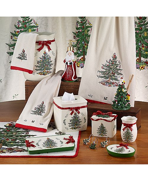 Avanti Spode Christmas Tree Bath Accessories Collection Reviews