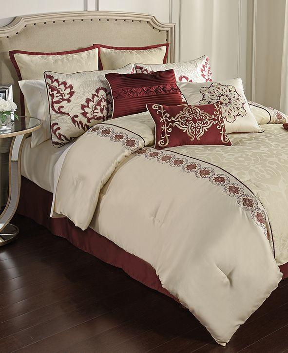 Hallmart Collectibles  Conrad 14-Pc. California King Comforter Set