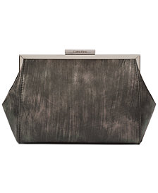 Calvin Klein Brushed Metallic Small Clutch