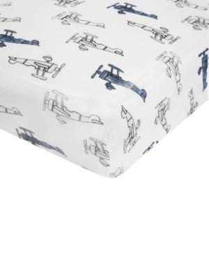 aden by aden  anais Cotton Sky High Printed Crib Sheet Baby Boys (024 months)