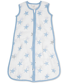 aden by aden + anais Dapper Cotton Printed Sleeping Bag, Baby Boys
