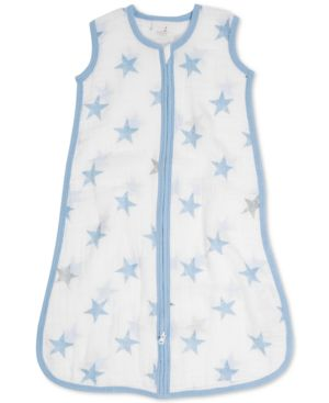 Image of aden by aden + anais Baby Boys Dapper Cotton Printed Sleeping Bag