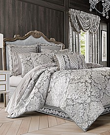 Bel Air 4-Pc. Silver King Comforter Set