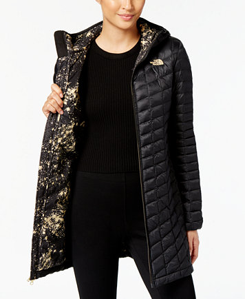 The North Face Thermoball Quilted Hooded Puffer Coat - Jackets ... : north face quilted coats - Adamdwight.com
