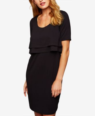A Pea In The Pod Tiered Nursing Top Maternity Women