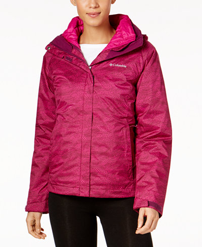 Columbia Outer West™ Interchange Insulated Puffer Coat
