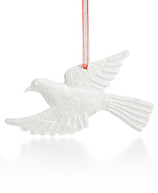 Global Goods Partners Dove Ornament