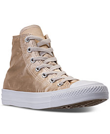 Converse Women's Chuck Taylor High Top Satin Casual Sneakers from Finish Line