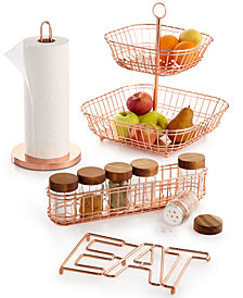 Martha Stewart Collection Copper Wire Collection, Created for Macy's