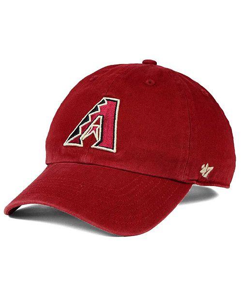 '47 Brand Boys' Arizona Diamondbacks CLEAN UP Cap