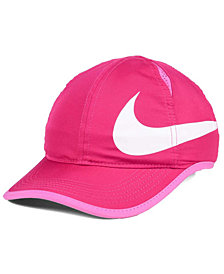 Nike Girls' Featherlight Swoosh Cap