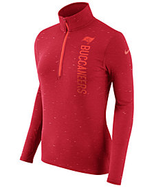 Nike Women's Tampa Bay Buccaneers Element Quarter-Zip Pullover