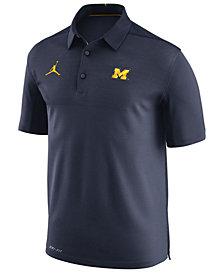 Nike Men's Michigan Wolverines Elite Coaches Polo