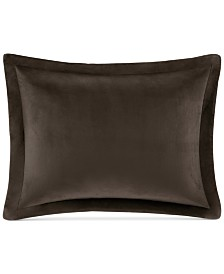 CLOSEOUT! Premier Comfort Reversible Sherpa 4-Pc. Standard/Queen Pillow & Sham Set