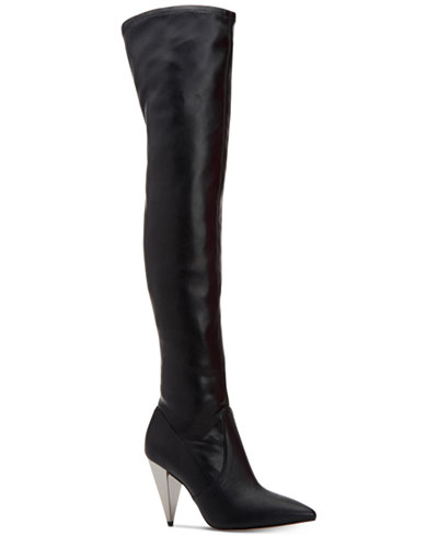 BCBGeneration Anela Spike Over-The-Knee Boots