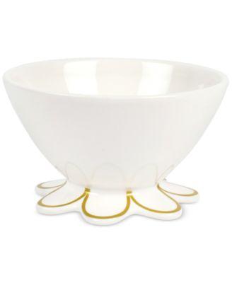 Scalloped-Edge Small Bowl
