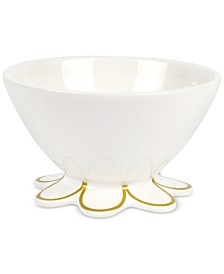 Scalloped-Edge Small Bowl