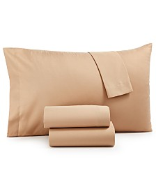 Microfiber Queen 4-Pc Sheet Set, Created for Macy's