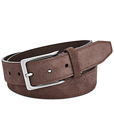 Fossil Men's Jim Gray Leather Belt