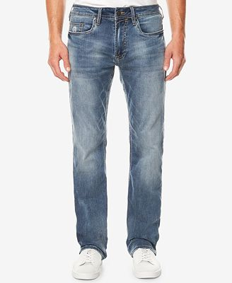 Buffalo David Bitton Men's Driven-X Relaxed Straight-Fit Stretch Jeans