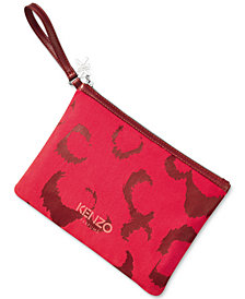Receive a complimentary pouch with any large purchase from the Kenzo Women's fragrance collection, Online Exclusive