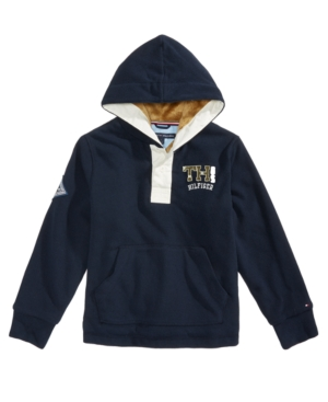 Tommy Hilfiger Baja Pullover Hoodie Little Boys (47)