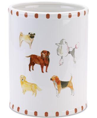 Dogs on Parade Wastebasket
