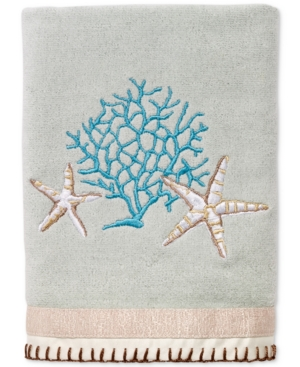 Image of Avanti Beachcomber Cotton Embroidered Hand Towel Bedding
