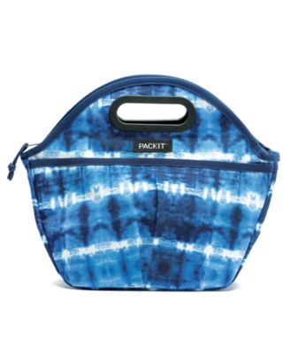 Tie-Dyed Traveler Lunch Bag