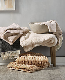Hotel Collection Throw Collection, Created for Macy's