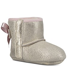 Baby Girls Jess Bow II Metallic Booties