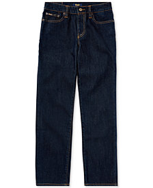 Ralph Lauren Big Boys Hampton Straight Stretch Jeans