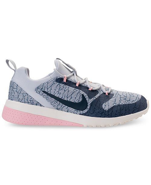 sports shoes b8a7e f0e01 ... Nike Womens CK Racer Casual Sneakers from Finish ...