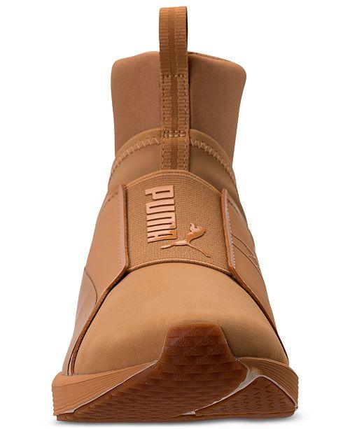 ... Puma Women s Fierce Nubuck Naturals Casual Sneakers from Finish Line ... fe49f9530