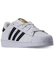 Little Boys' Originals Superstar Sneakers from Finish Line