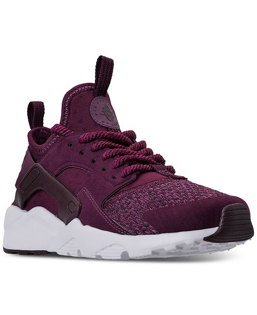 los angeles b4a42 3eb46 ... Nike Big Boys  Air Huarache Run Ultra SE Running Sneakers from Finish  ...