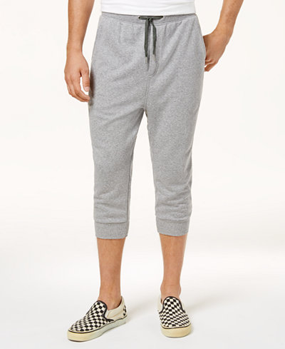 American Rag Men's Classic-Fit Cropped Joggers, Created for Macy's