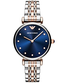 Women's Two-Tone Stainless Steel Bracelet Watch 32mm