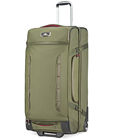 "High Sierra AT8 32"" Wheeled Upright Duffel Bag"