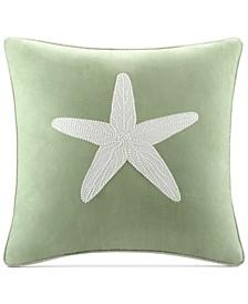 "Brisbane 180-Thread Count 18"" Square Decorative Pillow"