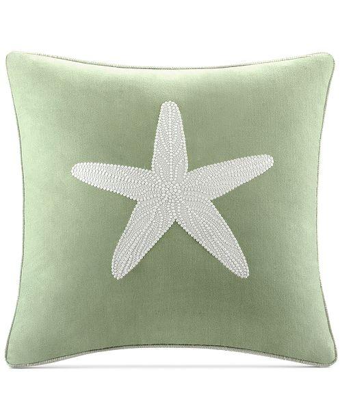 "Harbor House Brisbane 180-Thread Count 18"" Square Decorative Pillow"